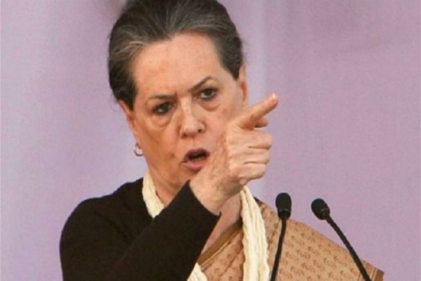 'Some Want RSS And Not Gandhi As India's Symbol': Sonia Gandhi Attacks BJP