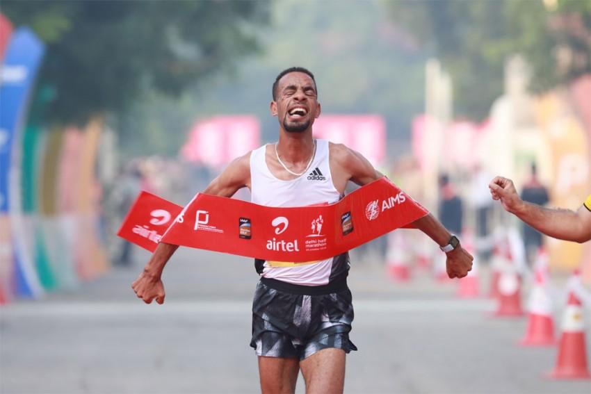 Delhi Half Marathon 2019: Andamlak Belihu, Tsehay Gemechu Defend Titles With Personal Best Timings