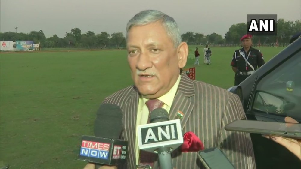 6-10 Pakistan Soldiers Killed, 3 Terror Camps Destroyed By Indian Firing: Army Chief General Bipin Rawat