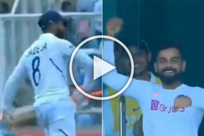 IND Vs SA, 3rd Test: Virat Kohli Tells Sword-Wielding Ravindra Jadeja To Ride A Horse in Hilarious Celebration - WATCH