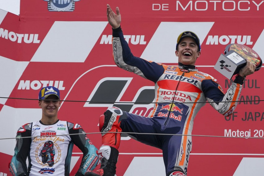 Japanese Grand Prix: MotoGP Superstar Marc Marquez Equals Mick Doohan Milestone With Routine Win At Motegi