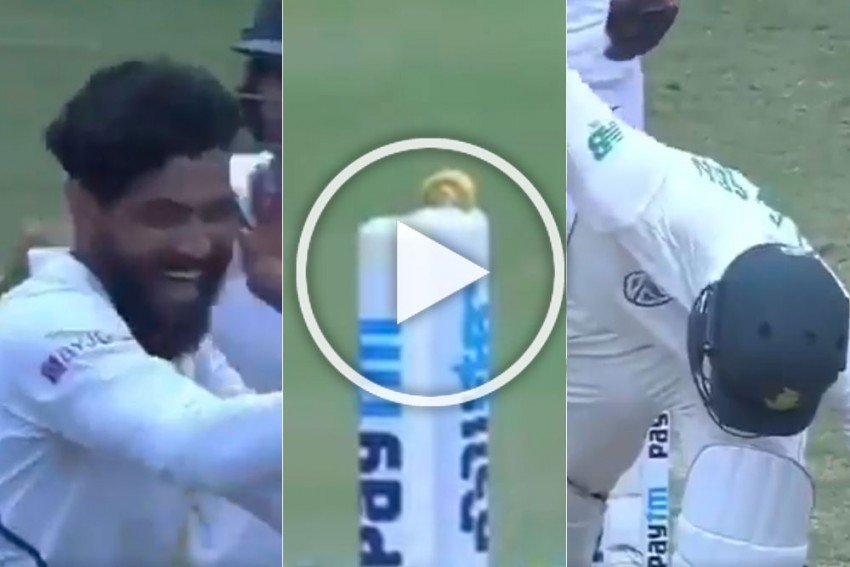 IND Vs SA, Ranchi Test: Immaculate Ravindra Jadeja Leaves One Bail In The Groove While Plucking Heinrich Klaasen - WATCH