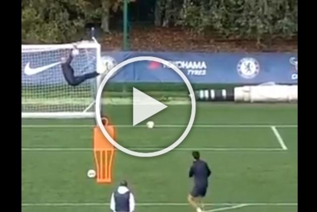 WATCH: Marcos Alonso Hits Inch-Perfect Free-Kick