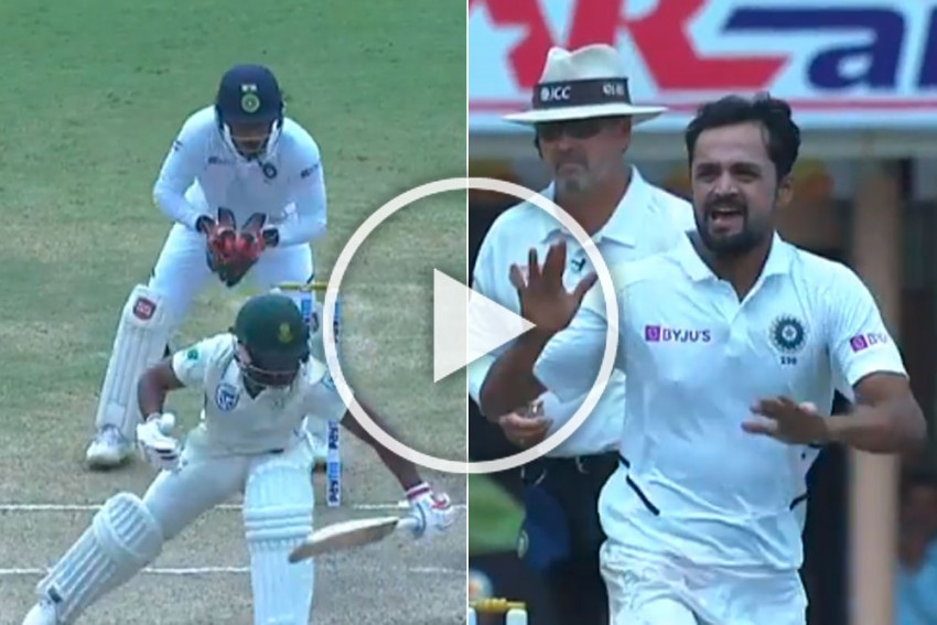 IND Vs SA, Ranchi Test: Debutant Shahbaz Nadeem's Stunning Delivery Leaves Temba Bavuma Dancing - WATCH