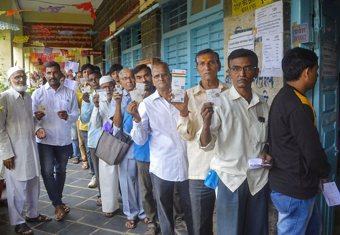 Maharashtra, Haryana Record Over 60% Turnout As Polling Concludes Peacefully
