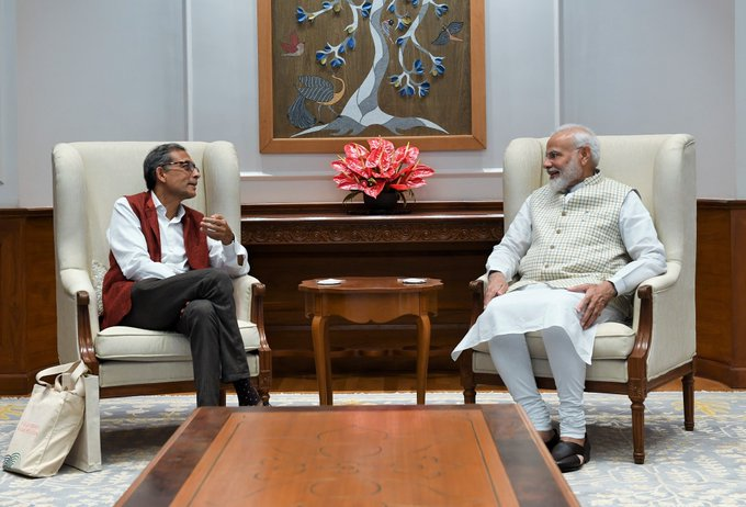 'India Is Proud Of His Accomplishments': PM Modi After Meeting Abhijit Banerjee