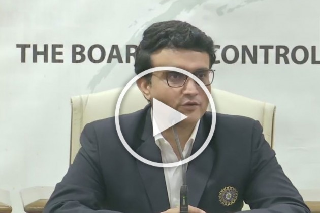 New BCCI President Sourav Ganguly Keeps India's 'Heart-Beat' Close To His Chest - VIDEO