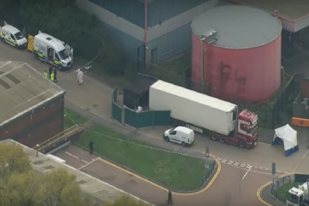39 Dead Bodies Found In Truck Container In UK; 25-Year-Old Driver Arrested