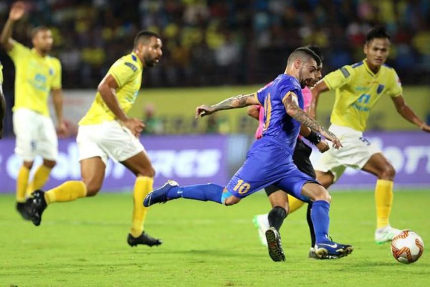 ISL 2019-20, Kerala Blasters Vs Mumbai City, Highlights: Amine Chermiti Goal Sinks KER