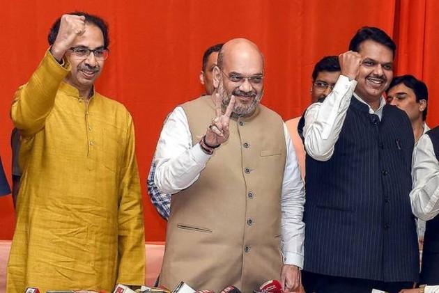 Assembly Elections 2019: BJP, Shiv Sena Cross Majority Mark In Maharashtra