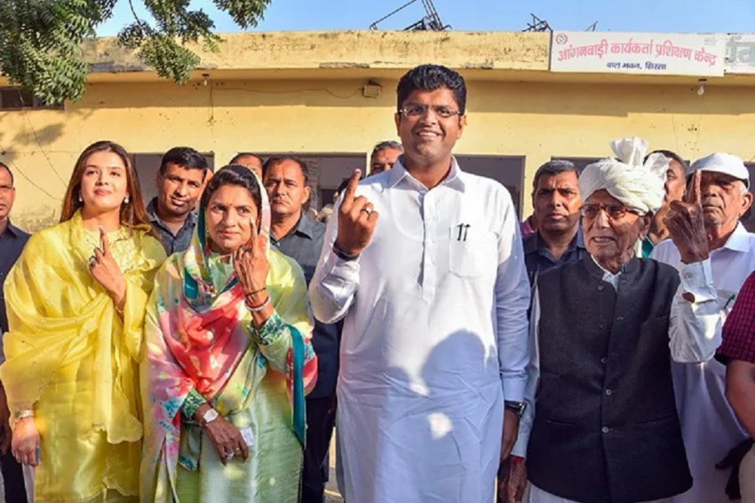 Dushyant Chautala, The 31-Year-Old 'Kingmaker' In Haryana & Heir To Devi Lal's Legacy