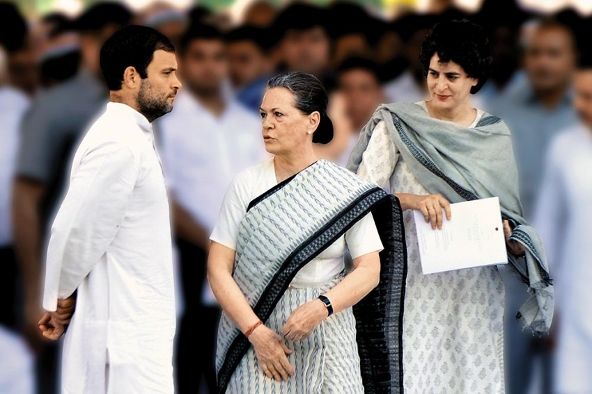 Enter Sonia. Exit Sonia. Enter Rahul, Exit Rahul. Enter Sonia... The Congress Game Of Thrones