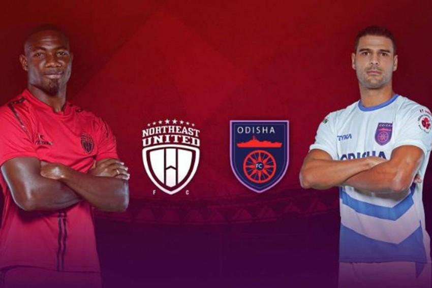 ISL 2019-20 Highlights: Asamoah Gyan Scores His First Goal As NorthEast United Beat Ten-Man Odisha FC 2-1