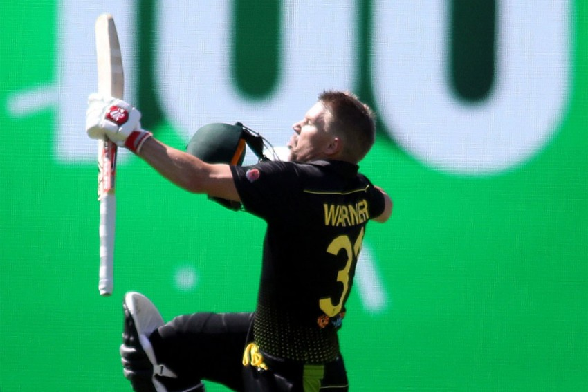 Birthday Boy David Warner Rises From Ashes, Sets Unique Record With Maiden T20I Ton