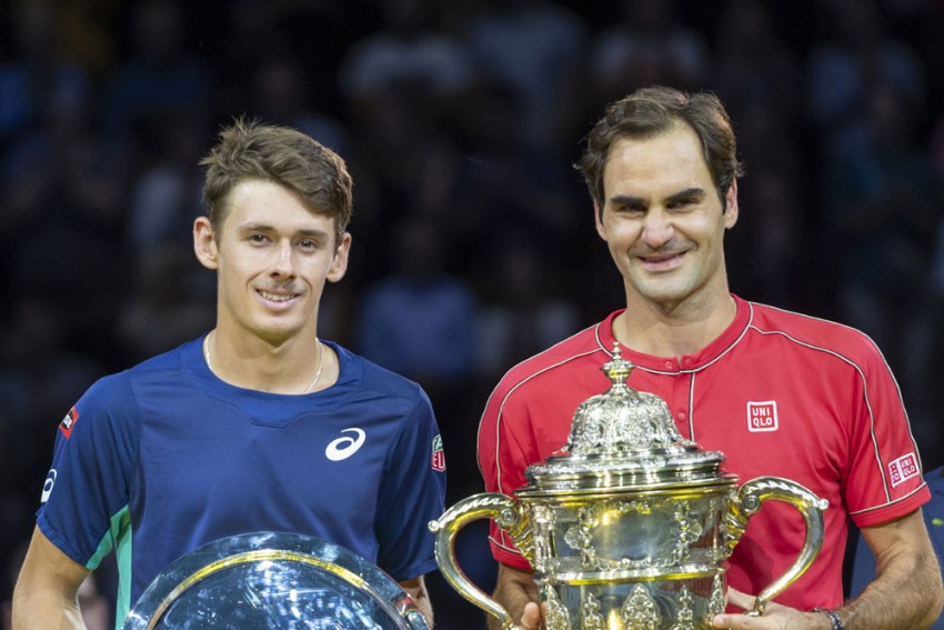 Roger Federer Breezes To 10th Swiss Indoors Basel Crown
