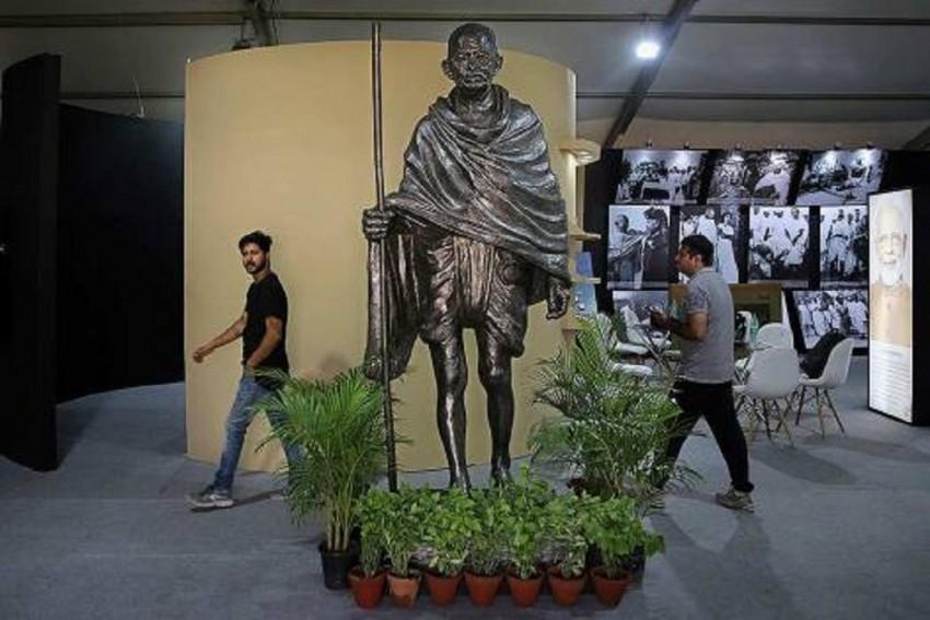 Mahatma Gandhi's Statue Vandalised In Rajasthan's Ajmer, Probe Underway