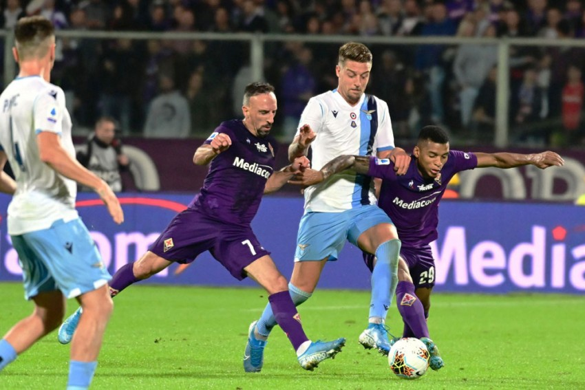 Franck Ribery Apologises For Shoving Official After Fiorentina Defeat