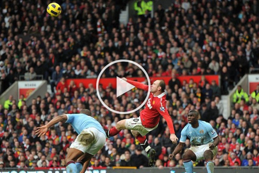 From Eric Cantona's Chip To Wayne Rooney's Bicycle - Manchester United's Best English Premier League Goals - Videos