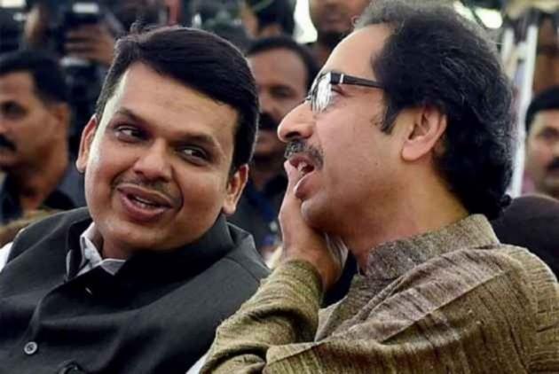 CM Fadnavis, Sena Leader Raote Separately Meet Governor Amid Maha Power Tussle
