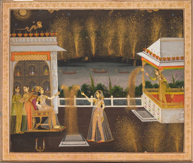 Diwali or Jashan-e-Chiraghan During Mughal Reign