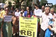 No Option 'But To Become Terrorist': PMC Depositors Protest Outside RBI Office
