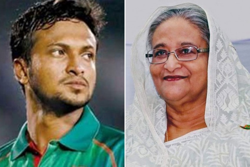 Bangladesh PM Sheikh Hasina Offers Support To Shakib Al Hasan; BCB To Stand By Banned Captain