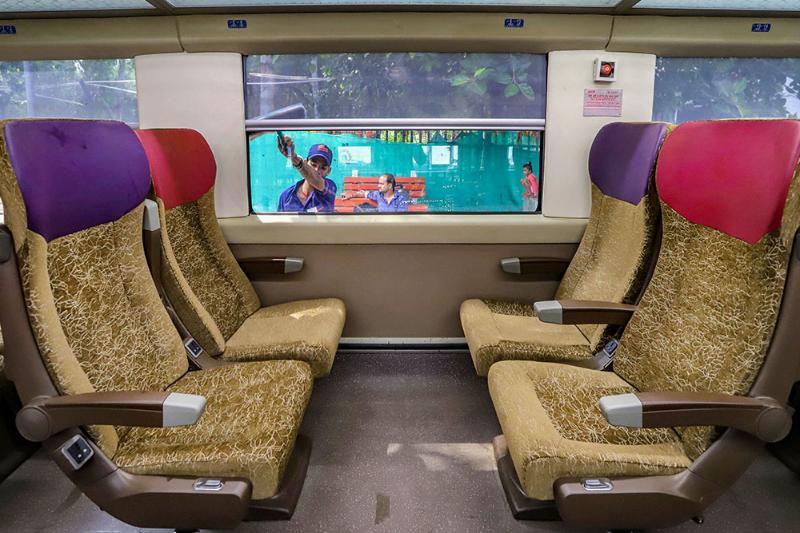 Bottle Crushers, Deep Freezer, Revolving Seats Among New Features In Vande Bharat Express