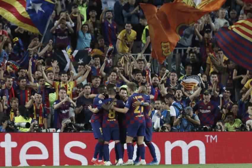 UEFA Champions League | Barcelona 2-1 Inter Milan: Lionel Messi Returns As Sublime Luis Suarez Secures Comeback