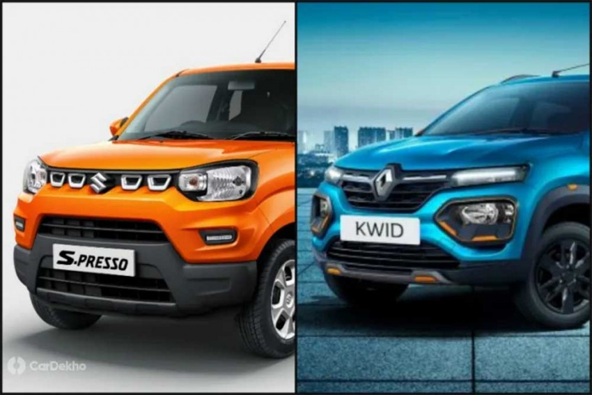 Maruti S-Presso vs Renault Kwid: Which Car To Buy?