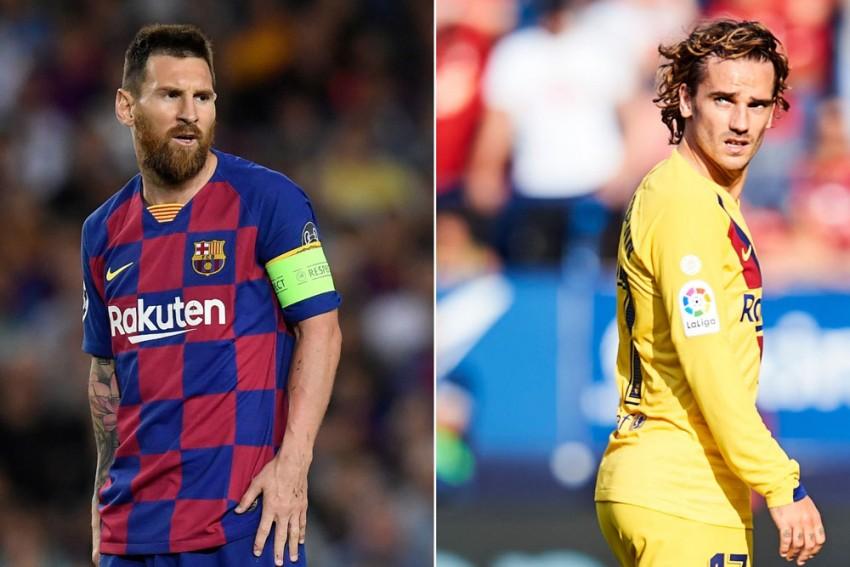 No Problem With Barcelona Team Mate Antoine Griezmann Lionel Messi