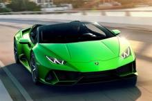 Lamborghini Huracan Evo Spyder India Showcase On October 10