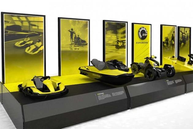 BRP Unveils Six Electric Concept Vehicles