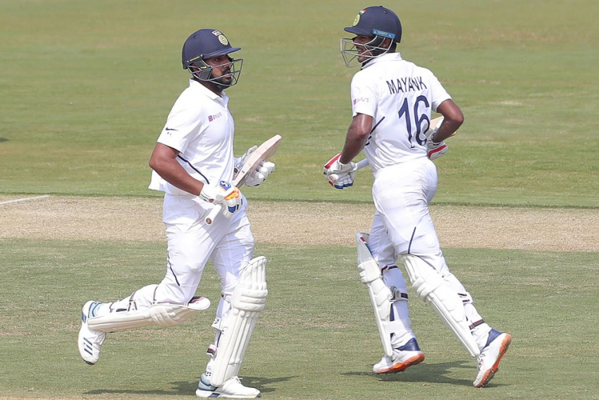 India Vs South Africa, 1st Test: Rohit Sharma-Mayank Agarwal Become 3rd Indian Opening Pair To Share 300-Run Stand