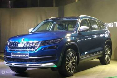 Skoda Kodiaq Scout Launched In India At Rs 34 Lakh