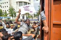 KCR Determined To Close State-Run RTC Buses, BJP Seeks Guv's Intervention