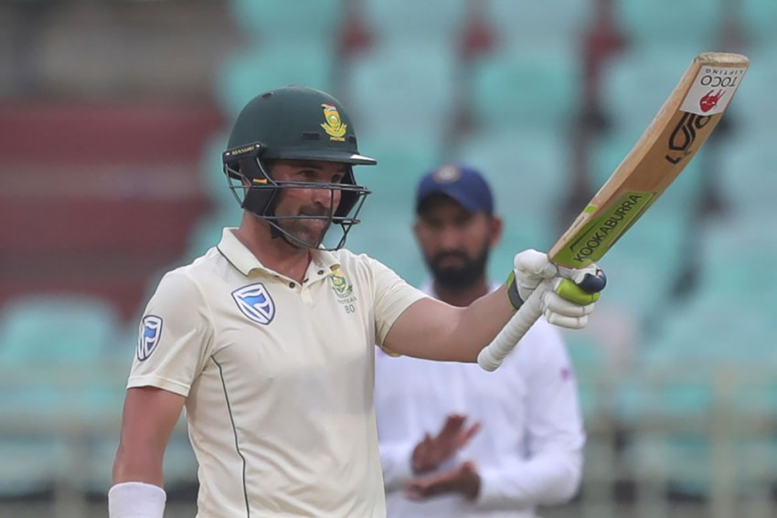 IND Vs SA, 1st Test: Dean Elgar Credits County Cricket For Making Him A Better Spin Player