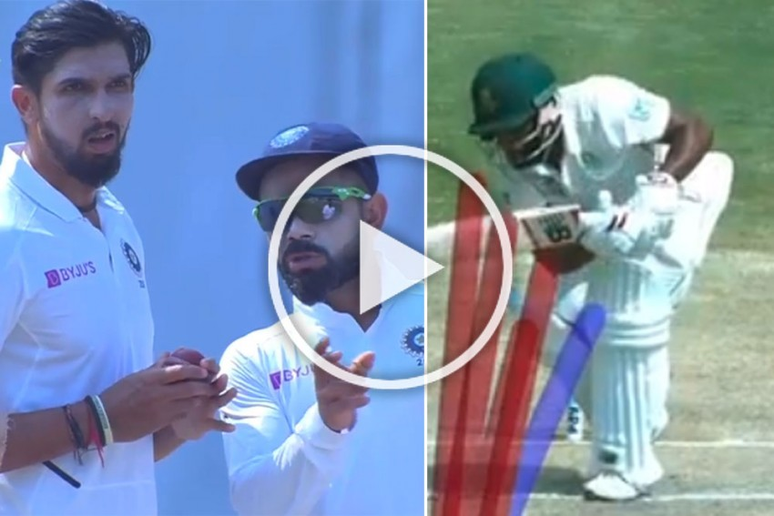 IND Vs SA, 1st Test: This is What Brilliant Captains Do! Virat Kohli, Ishant Sharma Plot The Fall Of Temba Bavuma - WATCH
