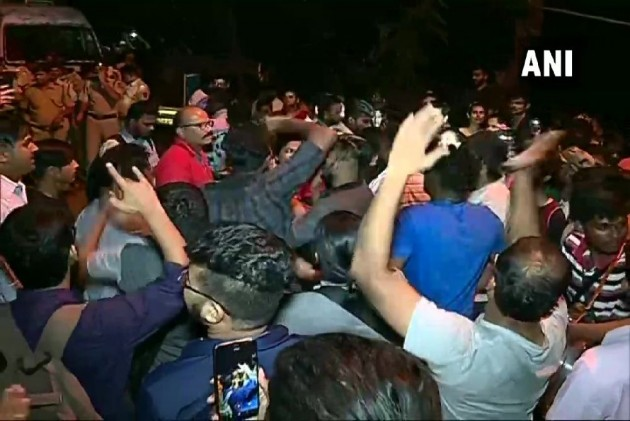 29 Protesters Arrested As Authorities Begin Cutting Trees In Mumbai's Aarey Colony