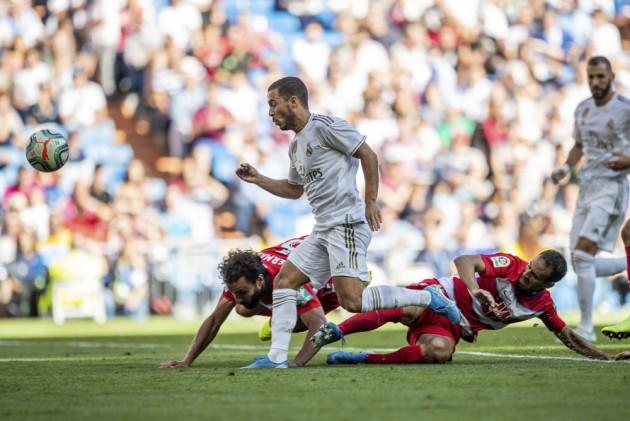 La Liga Gameweek 7, Real Madrid 4-2 Granada: Eden Hazard Scores First Goal As Zinedine Zidane's Men Hold On