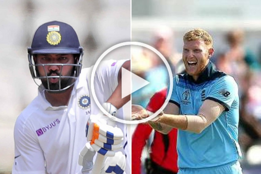 IND Vs SA, 1st Test: Rohit Sharma Swears At Cheteshwar Pujara In Hindi, Ben Stokes Sums It With A Brilliant Tweet