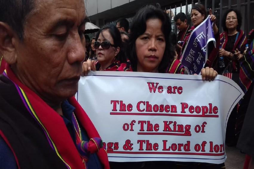 Mizoram: People Protest Against Citizenship Amendment Bill Ahead Of Amit Shah's Visit