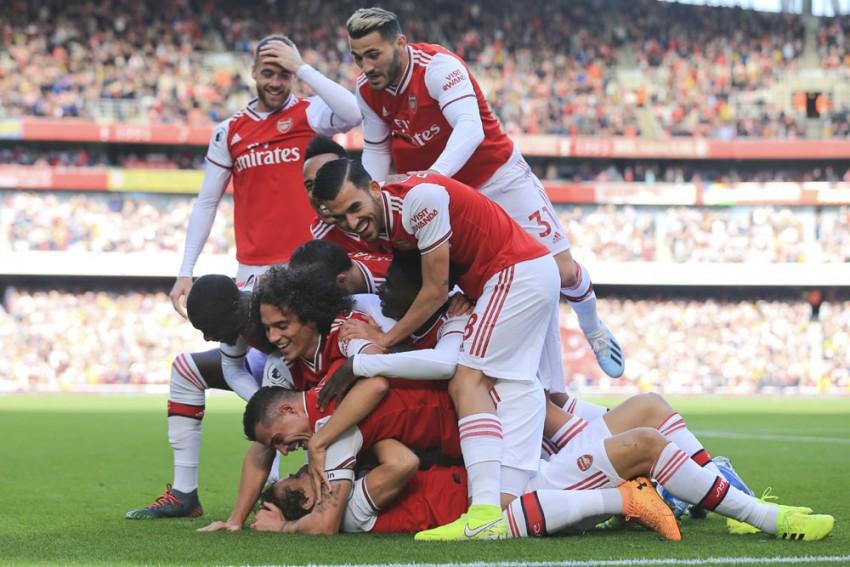 EPL Gameweek 8 | Arsenal 1-0 Bournemouth: David Luiz Heads In To Put Gunners Third
