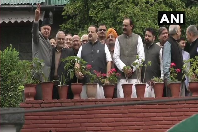 Two Months Since Placed Under House Arrest, Farooq Abdullah Meets NC Delegation