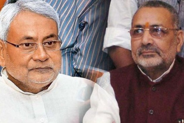 'He Is Not Even Speck Of Dust On Nitish Kumar's Feet': JD(U) Jabs Giriraj Singh