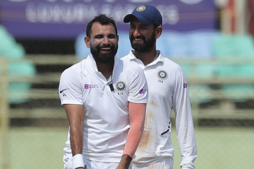 IND Vs SA, 1st Test: Remnants Of A Broken Stump! Mohammed Shami's Post-Match Pose Leaves Fans Impressed - In Pics