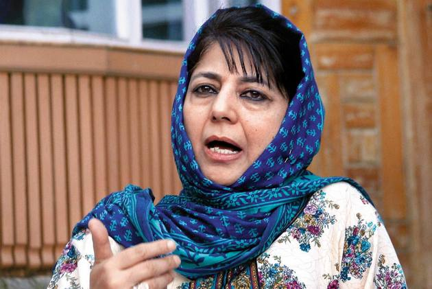 Detained PDP Chief Mehbooba Mufti To Meet Party Workers On Monday In Srinagar