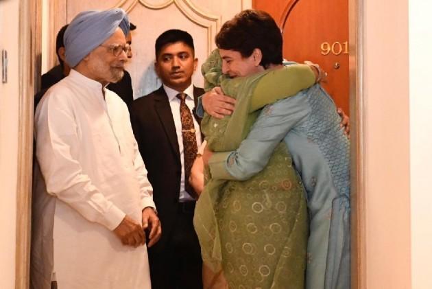 Priyanka Gandhi Shares An 'Overdue Hug' With Bangladesh PM Sheikh Hasina
