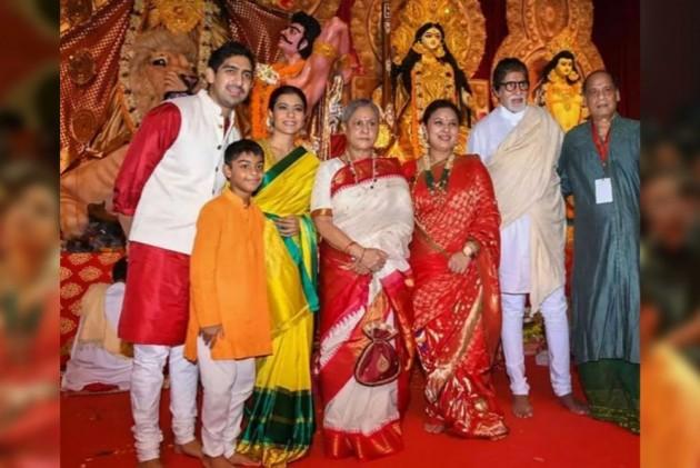 In Pics: Bollywood Celebrities Celebrate Durga Ashtami With Enthusiasm