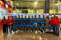Indian National Junior Men's Hockey Team Leaves For Sultan Of Johor Cup