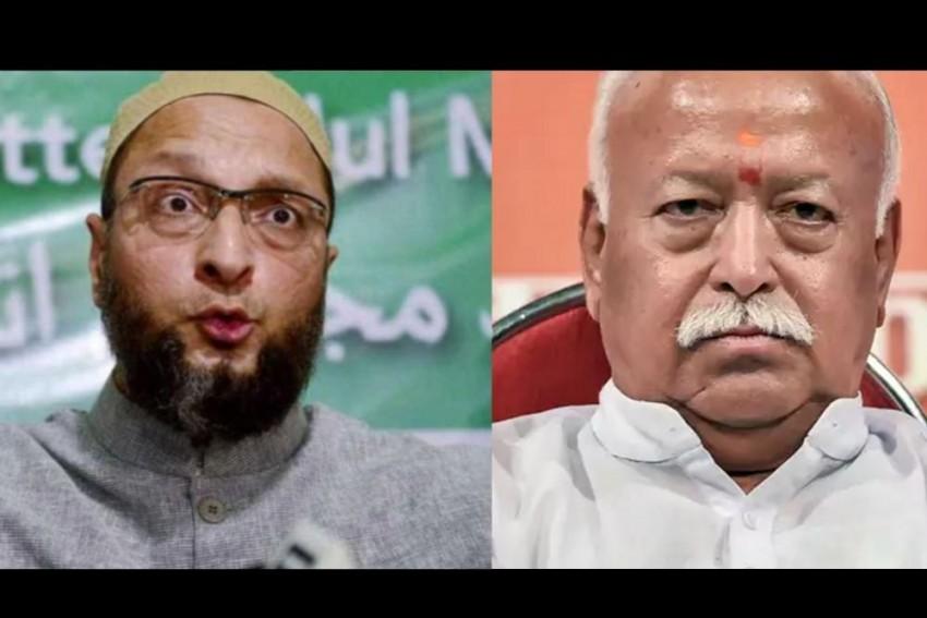 'Idea Of Hindu Rashtra Based On Hindu Supremacy': Owaisi Takes On RSS